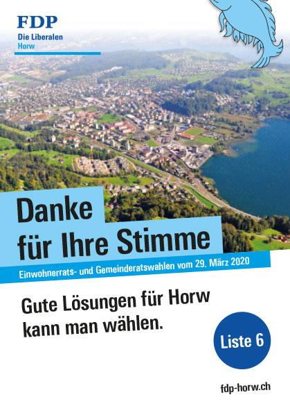 Einwohnerrats- und Gemeinderatswahlen 2020 Flyer